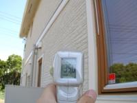 北面の外壁面の温度.JPG